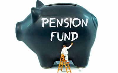 Pension fund| savings piggy bank